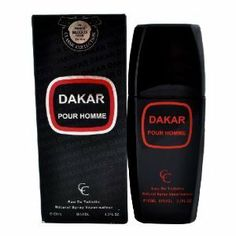 "Mens ""DAKAR"" Cologne by DAKAR. $8.98. 100ml 3.3 fl. oz. Our Version of DRAKAR NOIR by Guy Laroche. DAKAR-OUR VERSION OF DRAKKAR NOIR BY GUY LAROCHE FOR MEN"