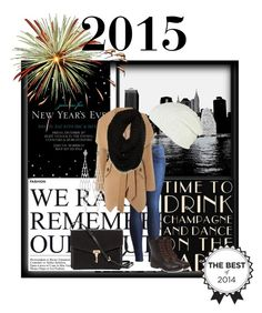 """""""New Years 2015"""" by parisinblackandwhite ❤ liked on Polyvore featuring mode, Universal Lighting and Decor, RVCA, Burberry, Joules, Black Poppy, Lipsy et Paula Bianco"""