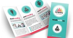 simple modern free brochure template http://hative.com/30-free-brochure-templates-download/