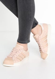 reputable site 62437 33e96 Köp adidas Originals SUPERSTAR 80S - Sneakers - dust peach white vapor för  1 195