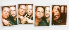 brothers Dean and Scott Winters, played brothers Cyril and Ryan O'Reily on Oz. yum