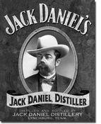 Jack Daniel's Portrait Tin Beer Sign
