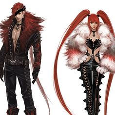 Female Character Design, Character Design Inspiration, Character Concept, Character Art, Concept Art, Fantasy Characters, Female Characters, Anime Characters, Style Feminin