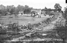 Gettysburg, Pa. Headquarters of Gen. George G. Meade on Cemetery Ridge (Leister House)
