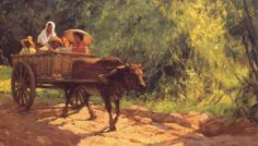 amorsolo paintings - Bing Images Dream Painting, Painting Studio, Art Pictures, Art Pics, Filipino Art, Philippine Art, Philippines Culture, Picture Composition, Post Impressionism
