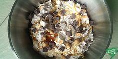 Proteinreicher cleaner Snickers-Quark, low carb Diät rezept