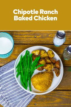 How about some yummy Chipotle Ranch Baked Chicken for this lunch and even share it with all? Get ready to learn about more recipes with chicken ideas at our site. Curry Seasoning, Chipotle Ranch, Chicken Life, Chicken Ideas, Baked Chicken Recipes, Delicious Dinner Recipes, Family Meals, Good Food, Tasty