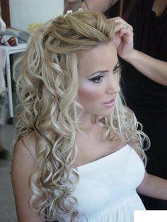 Bridal Style Hair