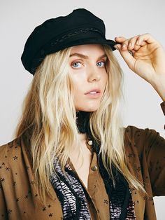 $48 Aegean Off Duty Lieutenant Hat at Free People Clothing Boutique