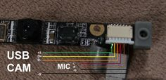 usb - Reusing Webcam and Monitor from old laptop - Electrical Engineering Stack Exchange Electronics Mini Projects, Simple Electronics, Computer Projects, Electronics Gadgets, Electronic Circuit Design, Electronic Engineering, Electrical Engineering, Diy Security Camera, Security Cameras For Home