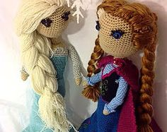 Anna Frozen Crochet PATTERN by SarahBethsBoutique on Etsy