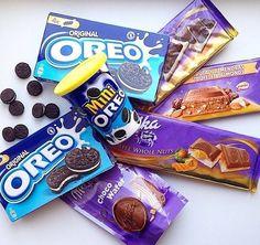 Печенье OREO и шоколад Milka