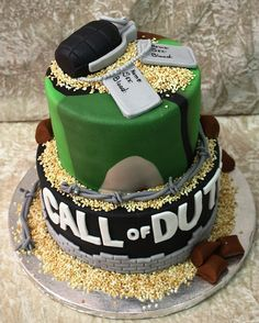 16th birthday Call of duty by The House of Cakes Dubai, via Flickr