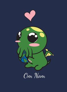 Cute Little Cthulhu Full-Zip Hoodie Costume Godzilla, Godzilla Toys, Alien Drawings, Cute Drawings, Drawing Faces, Cute Alien, Creepy Cute, Godzilla Birthday Party, Cthulhu Tattoo