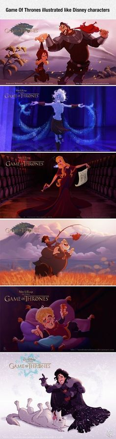 Walt Disney Presents Game Of Thrones