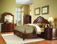 Homelegance Prenzo Low Profile 4 Piece Bedroom Set | Bedplanet.com | Bedplanet