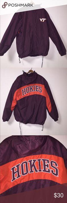 c3ee81bf7 Virginia Tech Jacket NCAA Virginia Tech winter Jacket with hood NCAA men's  medium NCAA Jackets &