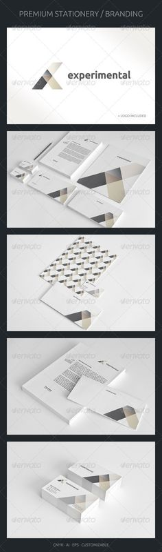 Experimental - Corporate Identity - GraphicRiver Item for Sale
