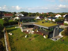 New house by Ramp Kleppe Stasjon, Norway Norway, Dolores Park, New Homes, Cabin, Modern Houses, Architecture, House Styles, Travel, Design