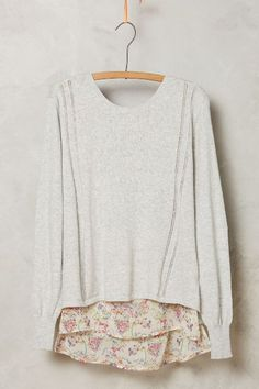 Norah Tiered Pullover - #anthrofave