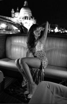 Dakota photographed by Greg Williams in Venice, Italy. #dakotajohnson