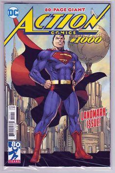 ACTION COMICS 1000 TONY DANIEL UNCANNY VIRGIN VARIANT SUPERMAN NM