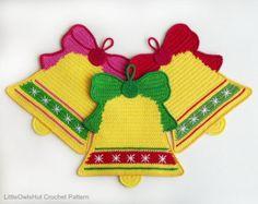 039 Weihnachtsmann Häkelanleitung Weihnachtsmann von LittleOwlsHut