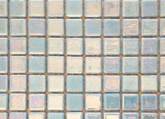Mosaïque émaux de verre , bleu azur nacré par plaque de 33.50 cm- Achat mosaique salle de bain
