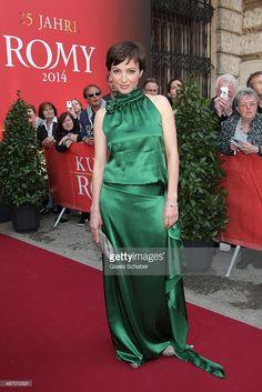 Julia Koschitz in Ella Deck Couture Romy Verleihung 2014 High Fashion, German, One Shoulder, Deck, Actresses, Film, Formal Dresses, Stylish, Haute Couture