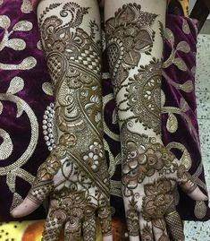 Arabic Mehendi Designs - Check out the latest collection of Arabic Mehendi design ideas and images for this year. Arabic mehndi designs are the most fashionable and much in demand these days.
