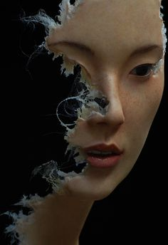 sculpture by Jamie Salmon