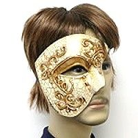 Men's Venetian style masks—these Phantom of the Opera masks with an old world design have the masculine look men are comfortable with for masquerade.  The crackled paint combines with scrollwork in silver or gold.   Find the Venetian mask to satisfy your customers by following the link.  http://www.awnol.com/store/Masks/Venetian-Style-Masks