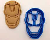 Iron Man 2 inch Fondant or Cookie Cutter 3D Printed