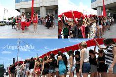Miss Mondo Italia 2016 contestants support No Violence against Women