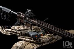 Sweet Aero Precision and our Hexmag Magazines and Rubber Tactical Grip  Photo by Down Range Photography