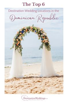 Discover the six most romantic resorts and wedding venues in the Dominican Republic. Winter Wedding Destinations, Destination Wedding Locations, Dominican Republic Wedding Venues, Romantic Resorts, Punta Cana Wedding, Most Romantic, Wedding Inspiration, Wedding Ideas, Unique Weddings
