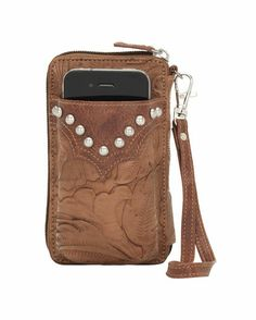 Under $25.00 -Smart women's weapon for traveling lighter - wallet with cell phone holder and can clip on your belt or jeans....great for day trip to Wimberly and dancing to the Texas Renegades in the evening...Women's San Marcos Cell Case/Wallet