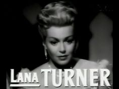 "Lana Turner ""Mysteries & Scandals"""