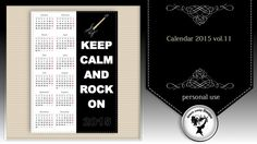 Calendar 2015 vol.11 by Black Lady Designs