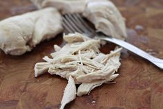 How to poach chicken.