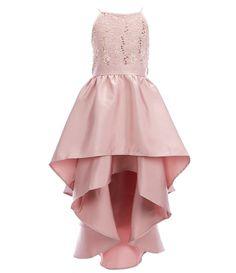 Cotillion Dresses, Dama Dresses, Strapless Prom Dresses, Cute Prom Dresses, Hi Low Dresses, Dresses Kids Girl, Girls Party Dress, Long Bridesmaid Dresses, Birthday Dresses