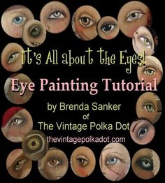 ok, it is not exactly a book, but an online class. I love the detail in Brenda Sanker's doll's eyes. this is worth the 15 bucks !