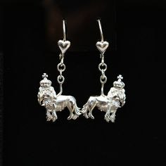Cavalier King Charles Sterling Silver Earrings   25% off through May 10th.  Apply Coupon MOTHERSDAYOFF25