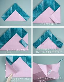 Claire's paper craft: Beautiful Gift Box- paper craft