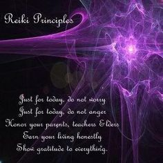 Reiki by glenda_cox2003, via Flickr  Reiki Principles