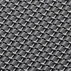Banker Wire Pattern DS-15 Opaque Style Weave Architectural Wire Mesh in Stainless