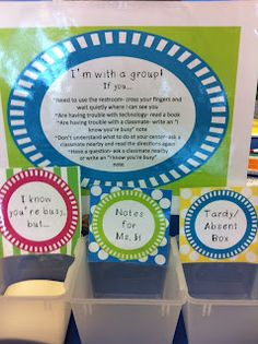 Small Group Organization: I think this would be a great tool for the classroom. It is very well organized and once the students know the routine, I'm sure that there would be very little question as to what they must do. It also looks very attractive and inviting so the students would actually enjoy small group time.