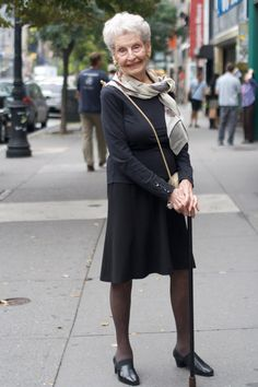 ADVANCED STYLE: Advanced Style Profile of a 100 Year Old Lady