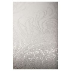 Graham & Brown Quill Wallpaper, White