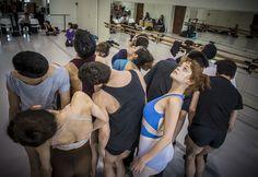 Ballet de Santiago en ensayo del Festival de Coreógrafos. Foto: Patricio Melo.